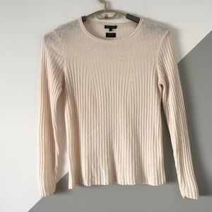 Massimo Dutti M Sweater Thin Knit 100% Linen Top